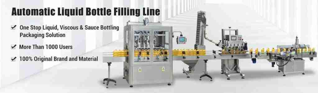 Automatic Bottle Filling Line 1