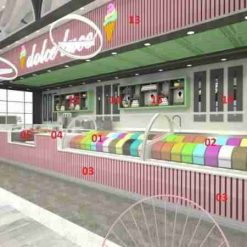 Top Ice Cream Parlor Design and Construction ALHARIRI 2021 Best