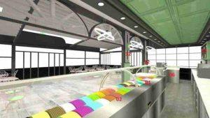 Дизайн и конструкция новых магазинов замороженного йогурта Топ LionMak 2020