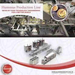 Commercial Hummus Making Machine Production Line by LionMak Top Quality 2020