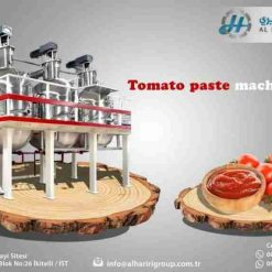 Made in Turkey Tomato Paste Production Machine LionMak New 2021