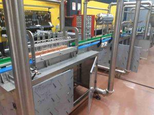 Линии розлива стеклянных бутылок 100-5000 бутылок в час