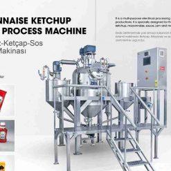 Mesin Pengeluaran Membuat Saus Mayonis